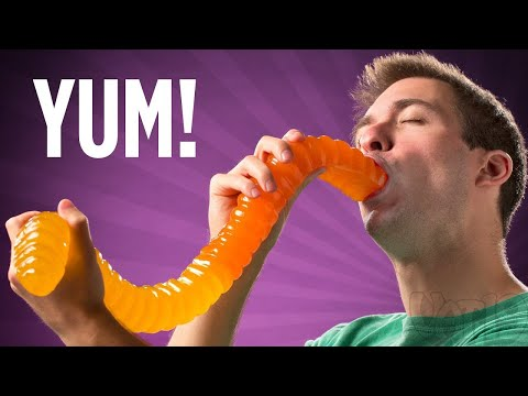 The World\'s Largest Gummy Worm