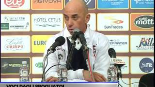 INTERVISTA ALBERTO BOLLINI DOPO GARA SALERNITANA-PERUGIA