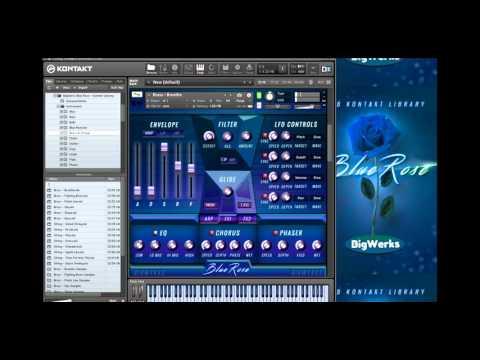 Blue Rose R&B - Kontakt vst - Sound Review - BigWerks
