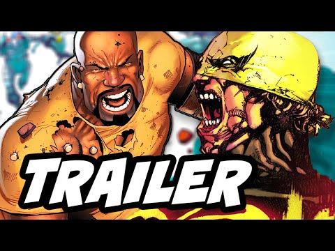Luke Cage Comic Con Trailer Breakdown - Marvel Defenders