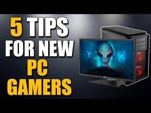 5 Tips for New PC Gamers