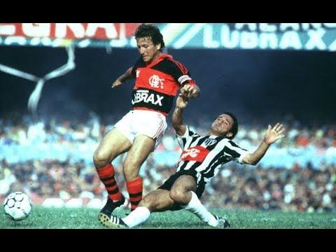 Atlético MG X Flamengo - Semifinais Brasileiro 1987 (Baú do Esporte)