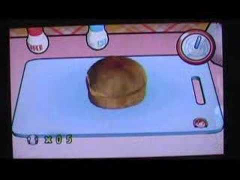 Cooking Mama Cook Off (Wii) - Cream Puffs - Gold Medal