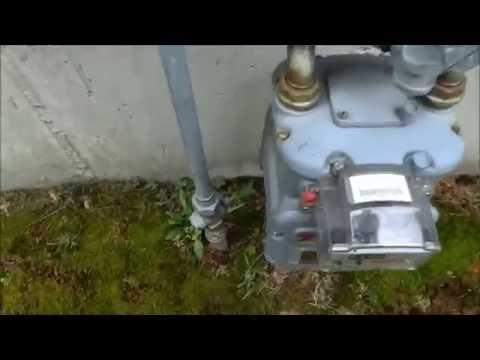 gas piping ran to new gas range,stove/start up