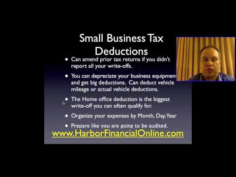Small Business Income Tax Planning & Preparation 2011, 2012