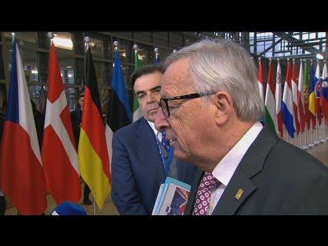 Δηλώσεις Γιούνκερ-Μπαρνιέ-Μακρόν για το Brexit