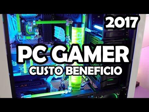 O MELHOR PC GAMER RODANDO VÁRIOS JOGOS ATÉ R$: 2300,00 CUSTO BENEFICIO ( 2017 )