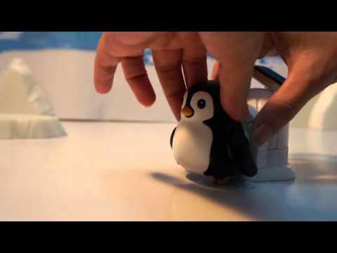 Kids Station Penguin Life Solar Rechargeable Kit