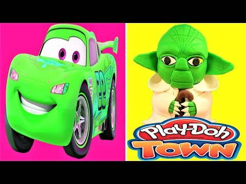 Top Cartoon Color Car Stop Motion Network LEGO Play Doh, Animation Cartoon For Kids