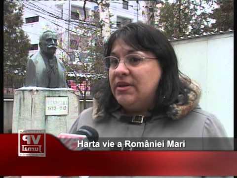 Harta vie a României Mari