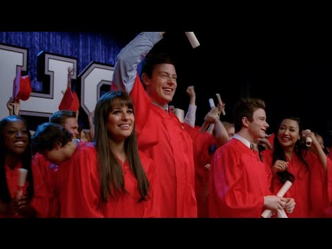 GLEE - Glory Days (Full Performance) + Graduation HD