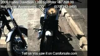 7. 2009 Harley Davidson 1200 Sportster Nightster for sale in Gr