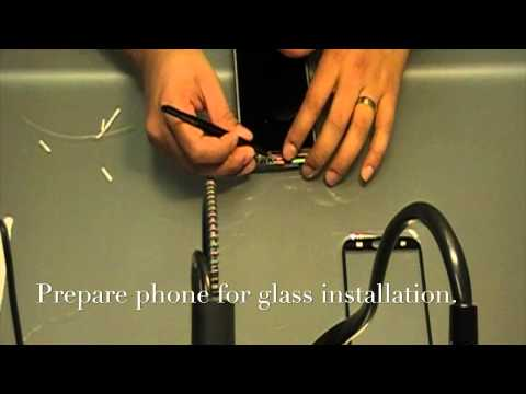 Samsung Galaxy Note II Glass Repair with OCA Film – Autoclave
