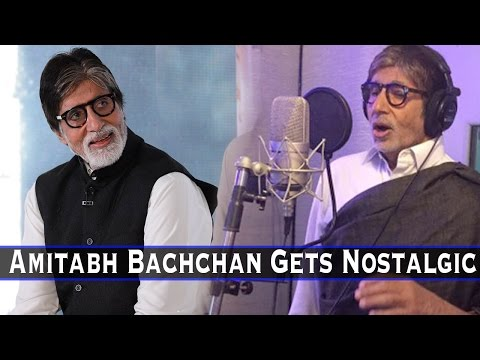 Must Watch: Amitabh Bachchan Gets Nostalgic, Talks