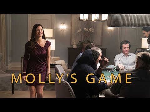 Molly's Game (2017) - Jessica Chastain, Idris Elba, Kevin Costner