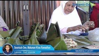 Seunicah Oen, Makanan Khas Ramadhan di Nagan Raya