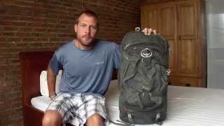 Osprey Farpoint 55 Travel Pack Review For Southeast Asia Backpacking Trip