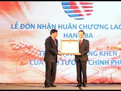 Tôn Đông Á kỷ niệm 15 năm thành lập & vinh dự đón nhận Huân Chương Lao Động Hạng Ba