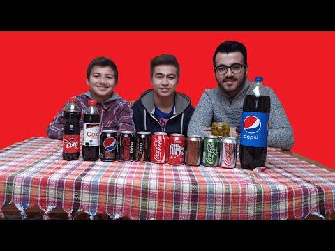 COLA CHALLENGE | Acı biber yemeli cola tatma yarışması
