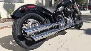 9. 2016 Harley Davidson FLS Softail Slim Review Specs