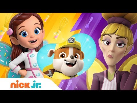 Butterbean's Café Pancakes Cook Off W/ Guest Judges Rubble, Rox, & Penny | Nick Jr.