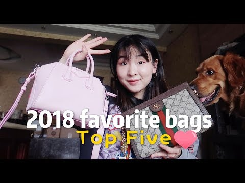 2018 FAVORITE HANDBAGS TOP 5 包包篇❤️| 水桶包 | Gucci| Givenchy纪梵希| Manu … видео