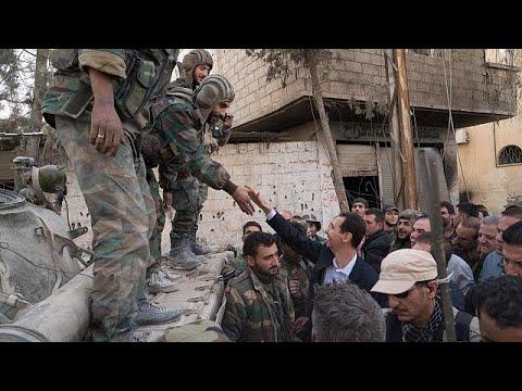 Assad in Ost-Ghouta - Deal zur Evakuierung der Islami ...