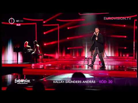 Andras - Powered by: http://www.eurovision.tv András Kállay-Saunders will represent Hungary at the 2014 Eurovision Song Contest in Copenhagen with the song Running.
