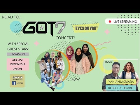 ROAD TO GOT7 2018 WORLD CONCERT 'EYES ON YOU' IN JAKARTA