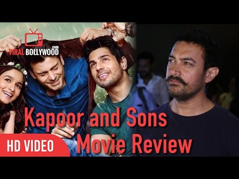 Kapoor and Sons Movie Review - Aamir Khan   Special Screening Of Kapoor and Sons