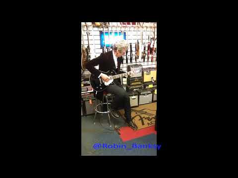 That Missing Footage of Dr Who Playing Guitar in Cardiff Music Shop - June 2015