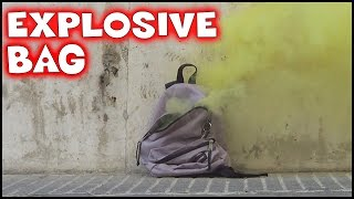 A Bag with a Bomb?! Possible!?Thank you guys so much for watching!MEeME Show channel :https://www.youtube.com/user/MEeMEShowLike The Video? Subscribe For More: http://www.youtube.com/subscription_center?add_user=theprankersprankGoogle+ : https://plus.google.com/u/1/b/102011105391383810890/102011105391383810890?pageId=102011105391383810890Instagram : http://instagram.com/theprankers_youtube