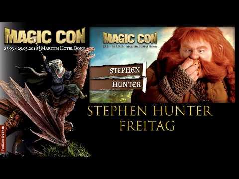 MagicCon (2018) Fr. Panel Stephen Hunter
