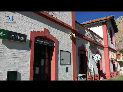 Mirador natural de la Estación de El Chorro, Álora