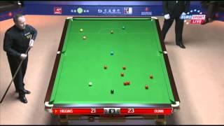 John Higgins - Mike Dunn (Frame 1) Snooker Shanghai Masters 2013 - Round 1