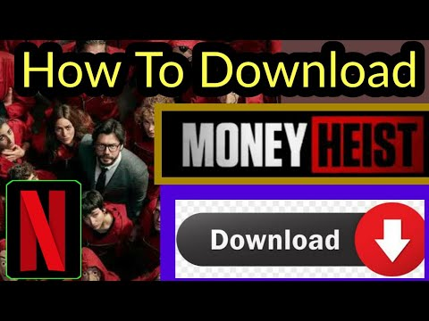 How To Download Money Heist All Seasons With English Subtitles | Money Heist | Netflix | le casa de