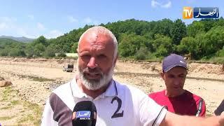 جيجل: ظاهرة نهب الرمال.. أراضي فلاحية مهددة بوادي أرجانة