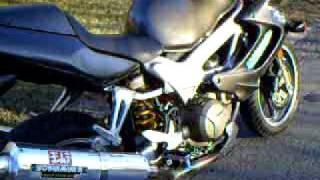 9. 2005 Honda VTR 1000 walk around