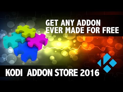 KODI STORE 2016-GET ANY ADDON OR REPO EVER MADE FOR KODI FOR FREE
