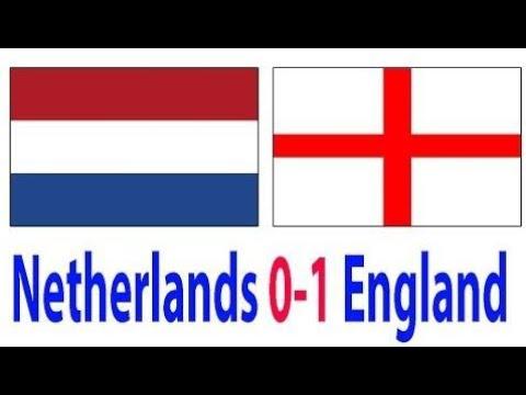 Резултати Холандия - Англия 0-1 24.03.2018 видео онлайн