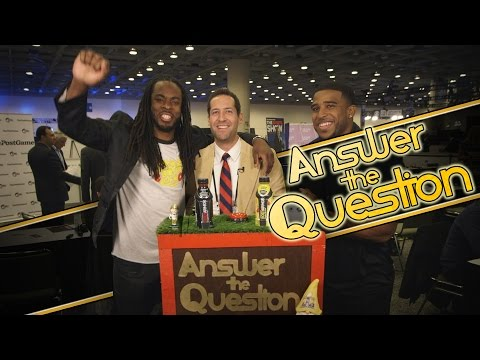 Video: Richard Sherman, other NFL players are hilarious game show contestants