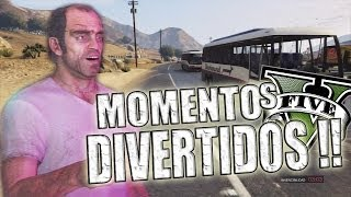 GTA V | Momentos Divertidos (Funny Moments) (GTA 5) (Grand Theft Auto 5)