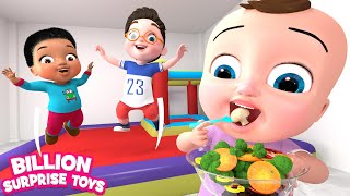 Video Five Little Babies | Vegetables Song | BST Kids Songs MP3, 3GP, MP4, WEBM, AVI, FLV Januari 2019