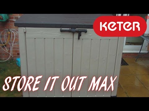 KETER Store It Out MAX, garden storage Box,1200L