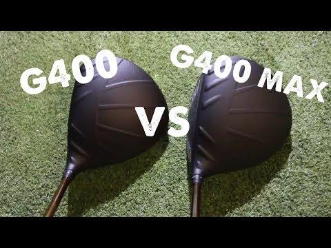 Ping G 400 VS G 400 MAX review