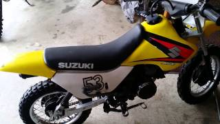 10. Suzuki JR50 - Dropped Down in Size.