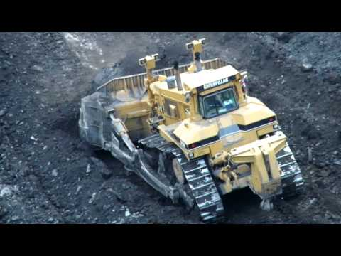 Caterpillar D11 Muscling Up