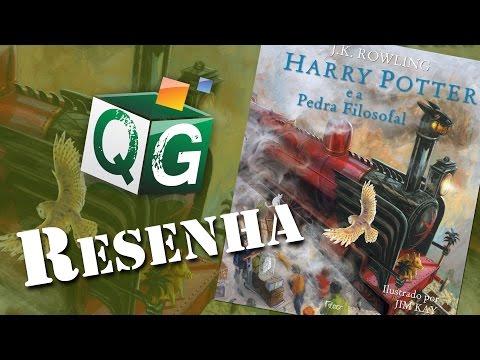 Resenha: Harry Potter e a Pedra Filosofal Ilustrado