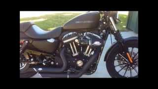 8. Harley Davidson Iron 883 with Vance & Hines Short Shots