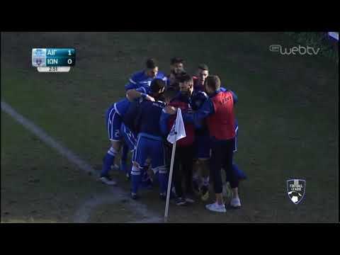 Football League: ΑΙΓΑΛΕΩ – ΙΩΝΙΚΟΣ  | ΓΚΟΛ 1-0 | 10/11/2019 | ΕΡΤ